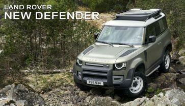 Prøvekør Land Rover Ny Defender i Kalundborg