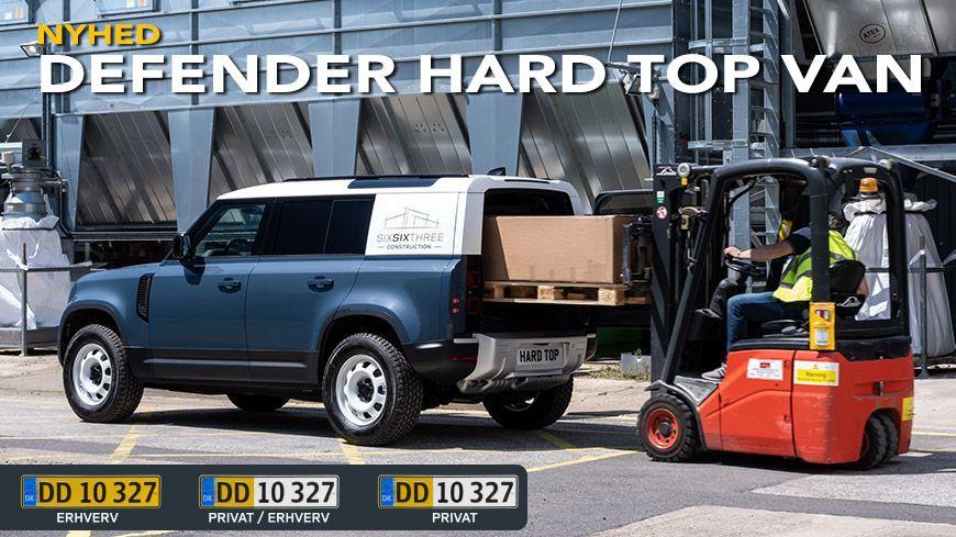 Defender Hard Top VAN varebil
